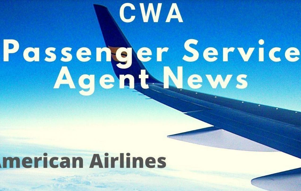 American Airlines Passenger Service Agents News