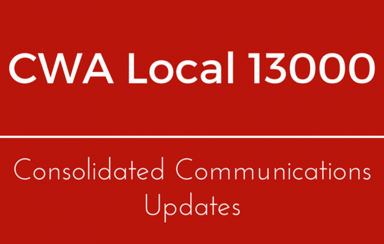 Consolidated Communications Inc. Bargaining Reports