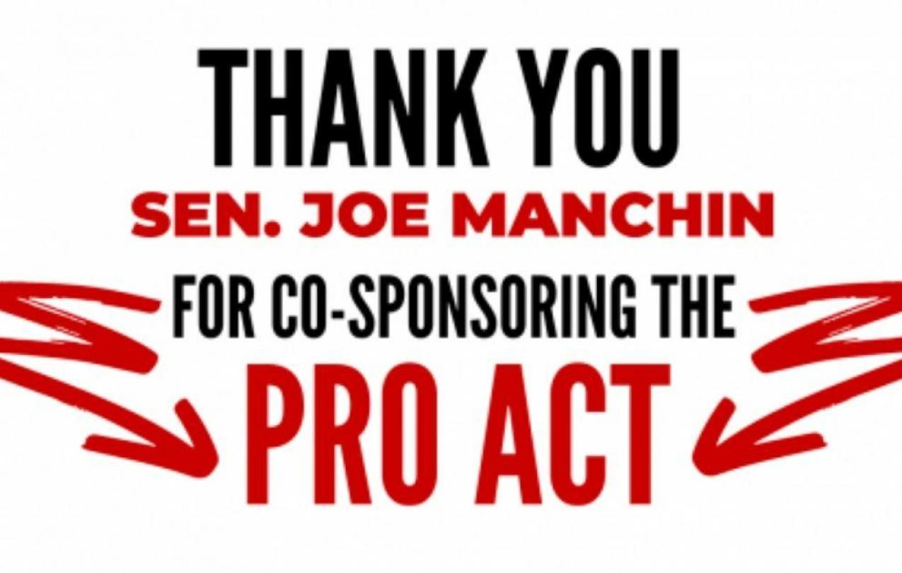 PRO Act Thank You Press Release Image