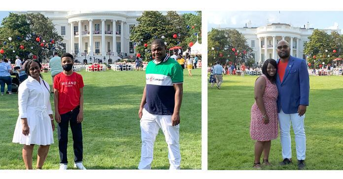 CWAers at the White House